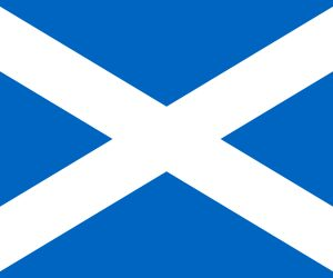 bandera de escocia