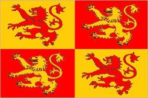 bandera del principe de gales