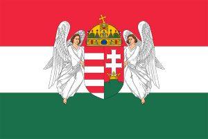 bandera de hungria en 1915-1918