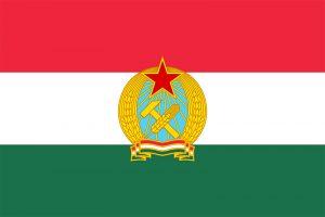 bandera de hungría en 1949-1956