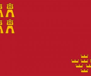 region de murcia bandera