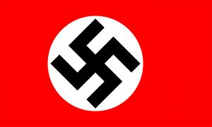 bandera nazi alemana