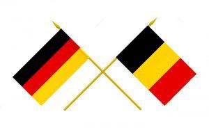 bandera de alemania vs belgica
