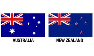 bandera de australia y nueva zelanda