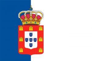 bandera de la casa real de portugal