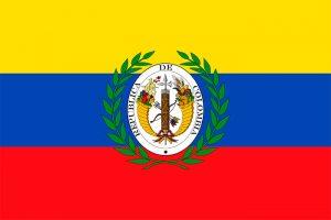 bandera de gran colombia