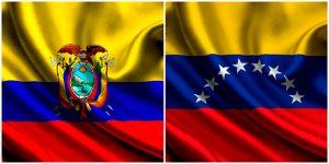 bandera de ecuador y venezuela