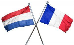 bandera de holanda y francia