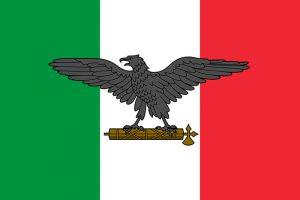 bandera de italia fascista
