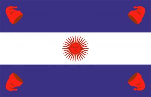 bandera de la confederacion argentina