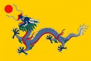 bandera dinastia qing