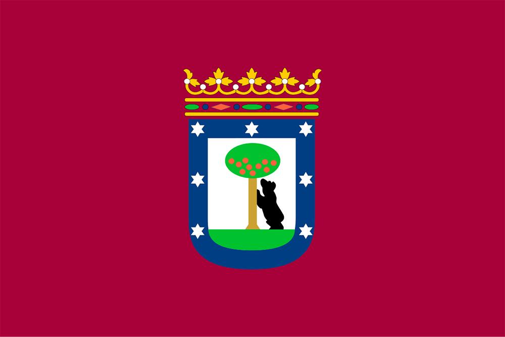 bandera de madrid ciudad