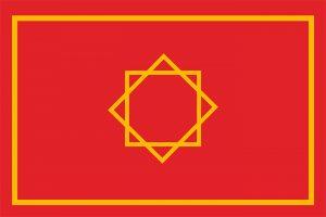 bandera de marruecos antigua