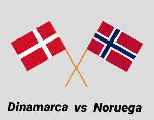 bandera de noruega y dinamarca