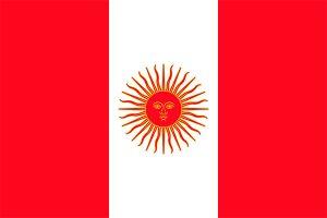 bandera de peru 1822-1825