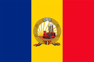 rumania socialista bandera