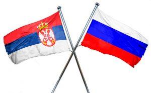 bandera de rusia y serbia