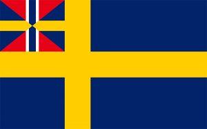 bandera antigua de suecia
