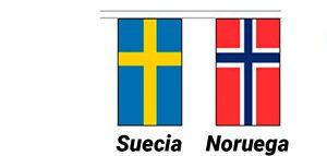 bandera de suecia y noruega