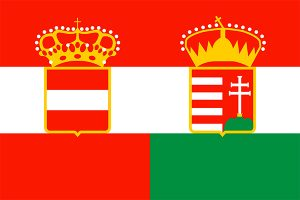 bandera del imperio austro-hungaro