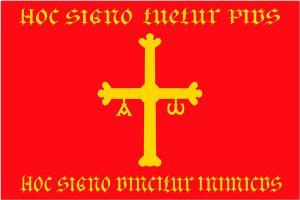 bandera de asturias roja