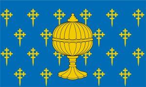bandera del reino de galicia