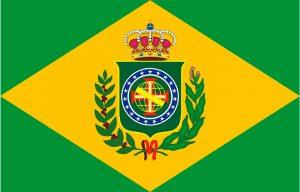 primera bandera de brasil tras independencia