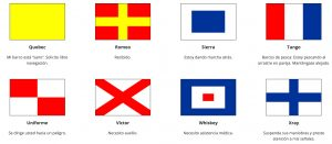 banderas marítimas con significado