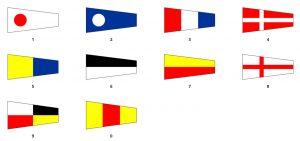 banderas marítimas numericas