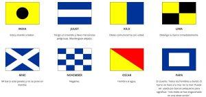 banderas nauticas con significado